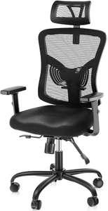Silla escritorio con soporte lumbar solo 64.9€