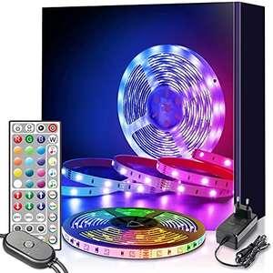 Oferta flash + cupón Tira LED 6m RGB