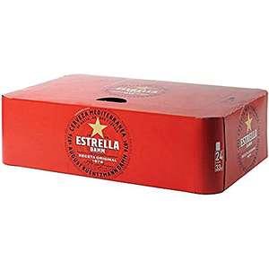 Cerveza Estrella Damm 24 latas