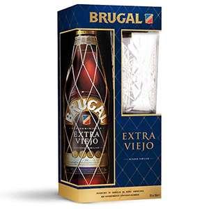 RON Brugal Extra viejo + vaso de regalo.