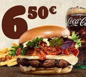Menú King Selection Tomate Seco y Provolone por 6,5€
