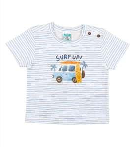 Camiseta algodón Top Top bebé 3-6 meses.