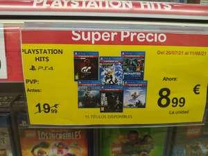 Ofertas Carrefour Madrid Sur y web (PS4/PS5/Switch)