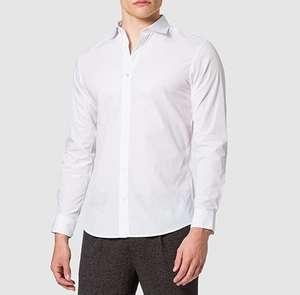 Pack dos camisas Jack & Jones hombre talla S (una blanca y una celeste)