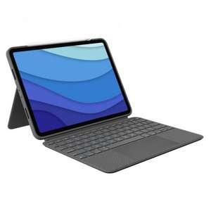 "Logitech Combo Touch Funda con Teclado Gris para iPad Pro 11"" (1º/2º/3º Gen)"