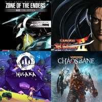 Zone of the Enders, Samurai Shodown, Warhammer: Chaosbane, Darksiders 3, A World of Keflings, Mulaka, Zone of the Enders,Street Fighter IV