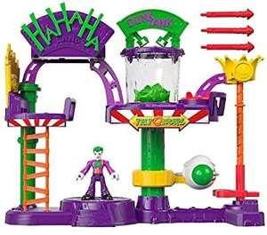 DC Super Friends Batman Fábrica de risas del Joker Juguetes niños +3 años