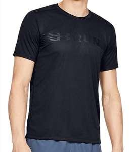 Camiseta deportiva Under Armour Run Warped adulto talla XL.