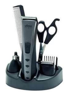 Kit Cortapelos Ufesa con accesorios para barba y vello