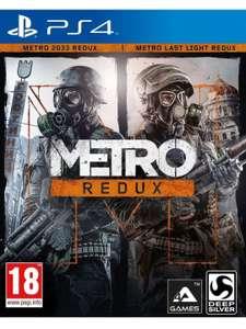 Metro Redux Doble Pack 2033 + Last Light (PS4)