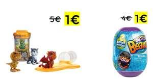 Mini precios en figuras Mad Lab Fingerlings & Mighty Beanz