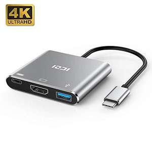 ICZI Adaptador USB Tipo C a HDMI