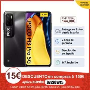 POCO M3 Pro 5G 4/64Gb desde España