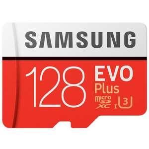 tarjeta micro sd 128gb Samsung evo plus