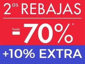 Hasta 70% + 10% EXTRA en Kiabi