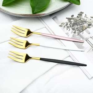 Juego de 6 tenedores acero inoxidable