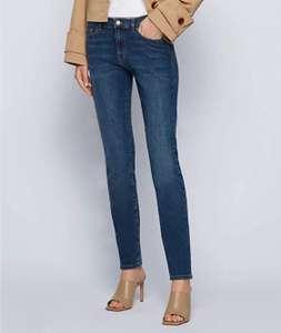Jeans slim BOSS mujer talla 33W/32L (42 largo normal)