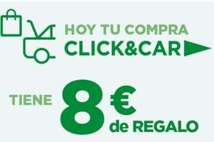 8€ GRATIS por recoger tus compras por CLICK&CAR