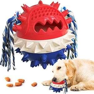 Juguetes Interactivos Pelota de Entrenamiento para Cachorros Cuidado Dental