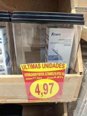 Esterilizador portatil ultravioleta Kyeu 153 - Alcampo (Utebo)