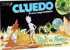 Juego de Mesa- Cluedo Rick y Morty (TB PcComponentes)