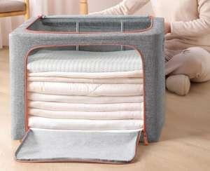 Caja de almacenamiento de tela para ropa de 88 litros de capacidad desde España