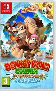 Donkey Kong Country: Tropical Freeze (Nintendo Switch, Amazon UK)