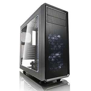 Fractal Design Focus G 2 x Ventiladores Silenciosos USB3 Ventana Panel ATX PC Caso – Gris