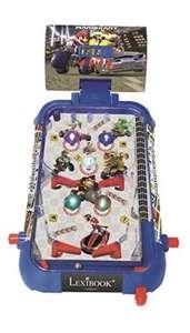 LEXIBOOK- Nintendo Mario Kart Máquina electrónica de Pinball de Mesa,