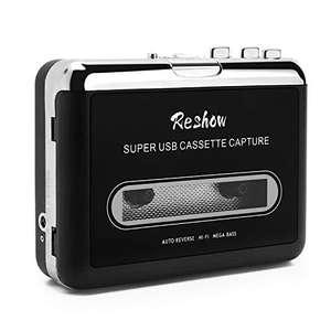 Reshow - Reproductor de casete portátil y convertidor a música MP3