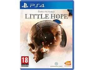 The Dark Pictures: Little Hope PS4 en Media Markt (eBay)