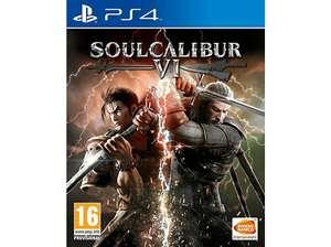 SoulCalibur VI PS4 en Media Markt (eBay)