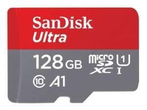 microSD SanDisk Clase 10 UHS-I 128GB