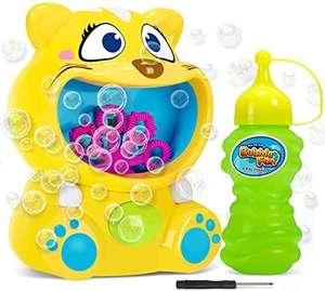 Máquina de Burbujas de Jabon Automática de Lindo Gatito