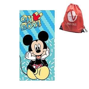 Toalla de Playa Inantil para Niños con Licencia Oficial Disney