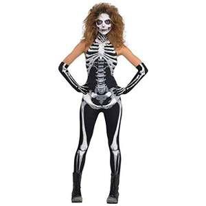 Christys London Disfraz Mono Esqueleto para Mujeres talla S