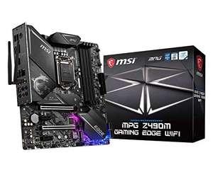 MSI - MPG Z490M Gaming Edge Wifi - Placa Base Performance Gaming (10th Gen Intel Core, LGA 1200 Socket, DDR4, SLI/CF, Doble Ranura M.2)