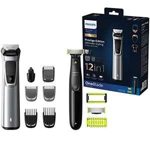 Philips MG9710/90 Recortadora de barba 12 en 1 Maquina recortadora de barba y Cortapelos