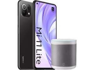 Xiaomi Mi 11 Lite, Negro, 128GB, 6GB RAM + Mi Smart Speaker