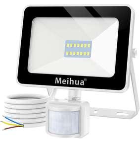 Foco Led con Sensor de Movimiento 1500lm 6500K Blanco Frío - IP66 Impermeable (también enlaces a 25w y 35w)