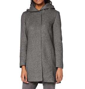Abrigo con capucha Vero Moda mujer talla M (XS a 17,13€ y S a 21,72€)