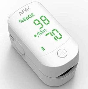 Pulsioxímetro LED digital LED. Monitor de frecuencia cardiaca y nivel de oxígeno en sangre.