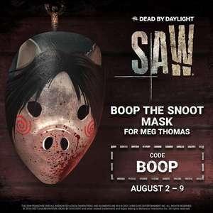 GRATIS :: Máscara Boop the Snoot SAW en Dead by Daylight (PC, Consolas y Móvil)