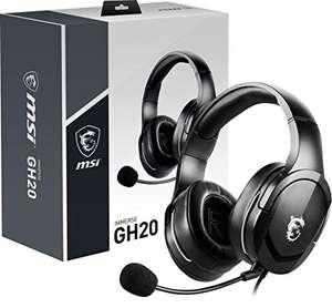 MSI IMMERSE GH20 - Auriculares Gaming con cable , multiplataforma , con micrófono