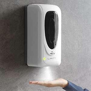 Dispersador automático de gel de manos para pared
