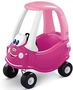 Little Tikes Camioneta Rosy para Montar - con Puertas Reales, Volante, Claxon.