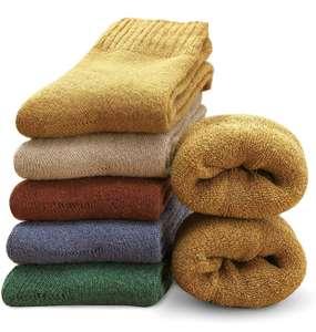 5 pares de calcetines (talla 35-41) para el invierno
