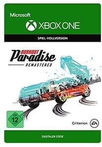BURNOUT PARADISE REMASTERED Standard | Xbox One - Código de descarga