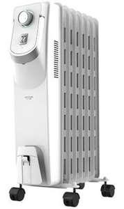 Cecotec Radiador Eléctrico de Aceite Ready Warm 5750 Space 360º White 7 Módulos, Bajo Consumo, 1500 W REACONDICIONADO Muy bueno