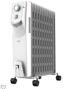Cecotec Radiador Eléctrico de aceite Ready Warm 5850 Space 360º White. 11 Módulos, Bajo Consumo, 2500 W. REACONDICIONADO. Muy bueno
